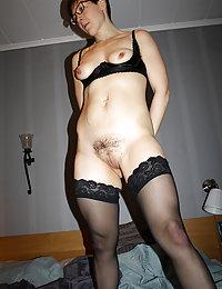 hairy readhead wife anal creampie
