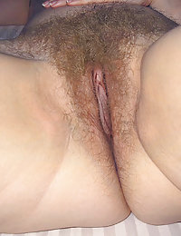 real young and hairy wife ready to ride her hubby