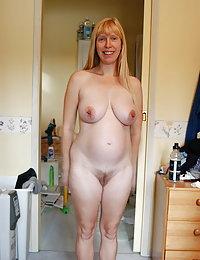 saddlebag hips hairy pussy wife