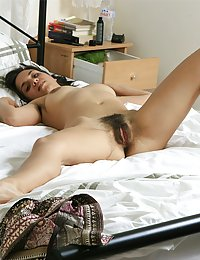 wife plays with hairy