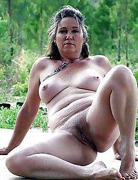 chubby hairy wife cums alot