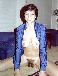 hairy meaty pussy white milf interracial wife