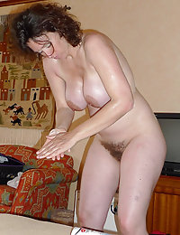 homemade fucking big tits hairy cunt wife